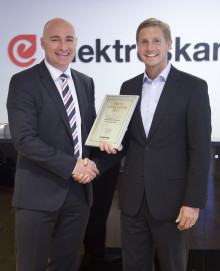 Schneider Electric utsedd till Årets Leverantör 2011 av Elektroskandia