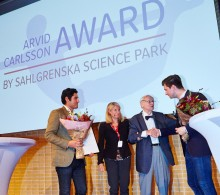 CELLINK-grundarna vinnare av Arvid Carlsson Award by Sahlgrenska Science Park 2017