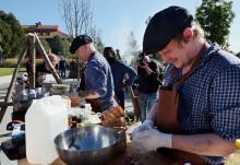 Sista lagen klara för SM i matlagning utomhus