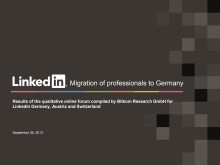 Migration of professionals to Germany