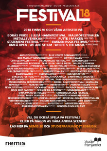70-tal festivaler bidrar till svenskt musikunder