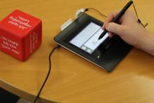 Pen Pads schonen Umweltressourcen und verbessern Komfort für Kunden