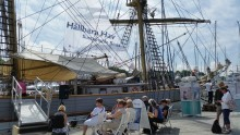 Hållbara Hav och Briggen Tre Kronor i Almedalen