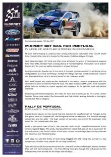 MOTORSPORT: M-Sport sætter kursen mod Portugal