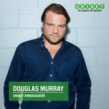 Douglas Murray är ny Unibet-ambassadör