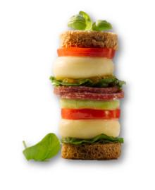 Mit Mini Babybel® geht es hoch hinaus: Promotion mit Mini Sandwich-Ausstecher