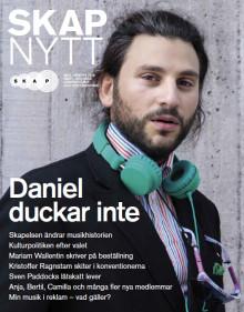 Du läser väl SKAP-Nytt – tidningen från och om Sveriges kompositörer och textförfattare?