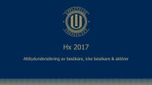 Hx 2017 Upplevelseinstitutets attitydsmätning