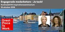 Kostnadsfritt halvdagsseminarium: Engagerade medarbetare, Ja tack! (begränsat antal platser)