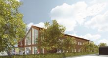 Byggstart för Multihus på Eslövs folkhögskola
