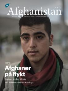 Afghaner på flykt – nytt temanummer av Afghanistan-nytt #4