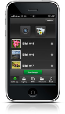 Säkra semesterbilderna direkt med ny iPhone-app från Bredbandsbolaget