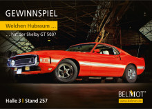 Gestohlene Oldtimer: Versicherer kooperiert mit Vodafone Automotive – 69er Shelby GT500 Fastback als Ausstellungsstück