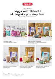 Bildblad Friggs kosttillskott & ekologiskt proteinpulver