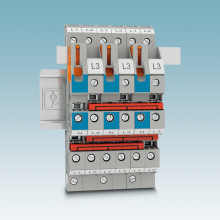 Multi-level terminal blocks for building installation save space