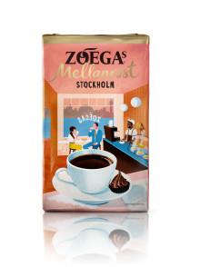 Stockholm som inspiration för Zoégas nya mellanrost