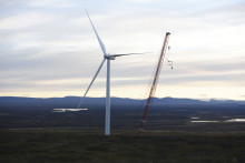 Sjisjka vindpark vinner Sweden Green Building award