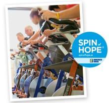 Purus deltog på Sveriges största spinningevent - Spin of Hope 2015