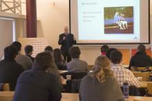 Studenter från Harvard University använder Mälarenergis Kraftvärmeverk i forskning