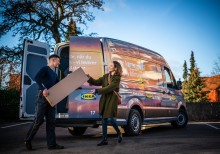 Nu kan danskerne hente deres IKEA varer over hele landet