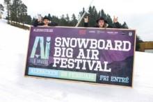 Världseliten i snowboard på väg till Ale