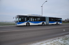 32 nya ledbussar på väg ut i stadstrafiken