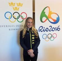 Emma Larsson klar för OS i artistisk gymnastik