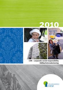 Hållbarhetsredovisning 2010