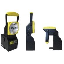 HB15 LED handlampa med nödljusfunktion för 12-24 V eller 230 V laddning!