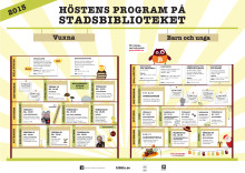 Program, Bodens stadsbibliotek