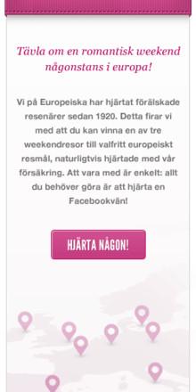 """Var med och tävla i vår """"Vem hjärtar du""""-tävling"""
