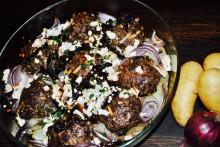 Månadens recept februari - Potatis med färsbiffar