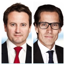 Nye partnere: Øystein Skudal og Christian O. Hartmann