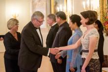普兰梅卡总裁 Heikki Kyöstilä 应邀参加中芬总统欢迎晚宴