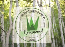 Holistic nominerat till Årets hälsoföretag av Swedish Health Awards
