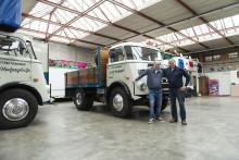 DAF har hittat den äldsta DAF-lastbil som fortfarande är i drift kommersiellt