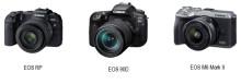 Canon firar förstaplatsen för 17:e året i följd på den globala marknaden för systemkameror