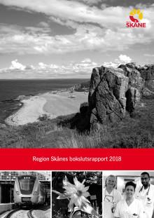 Bokslutsrapport 2018 från Region Skåne