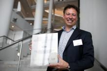 Kanvas får tildelt utmerkelse fra HR Norge for sitt arbeid innen kompetanseutvikling