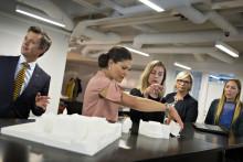 Den bæredygtige by på dagsordenen under royalt besøg i Stockholm