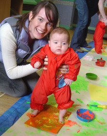 A new programme to support parents and carers with their babies and toddlers, launches in over 300 centres across the UK.