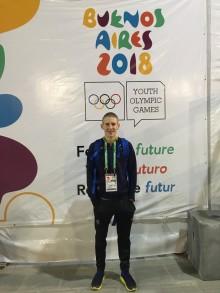 Andreas Carlsson redo för Världsungdoms-OS