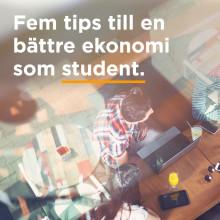 Använd mobilen för att få koll på pengarna som student