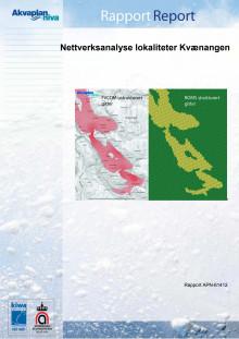 Akvaplan-niva rapport Nettverksanalyse Kvænangen