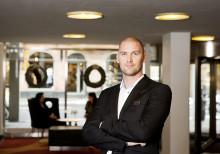 Kristian Sandahl ny hotelldirektör på Scandic Rubinen