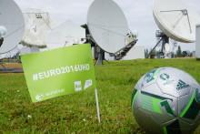 Eutelsat: con Euro 2016 vince la nuova TV