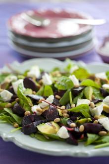 Itrim-recept: Ljummen rödbetssallad med avokado