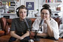 Maja och Matilda skapar podd med kreativt fokus