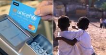 UNICEF-kortet räddar barn drabbade av krig och katastrofer