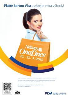 Nákupy Ona Dnes - vizuál kampaně